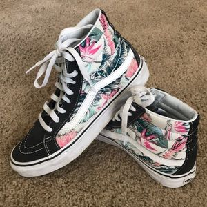 Vans Tropical print Hightops